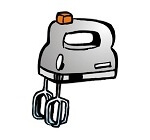 Handmixer 350 Watt