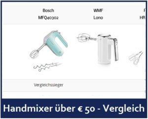 Handmixer über Euro 50