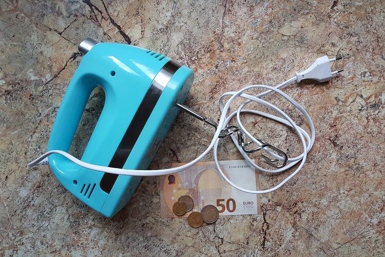 Wieviel kostet ein elektrischer Handmixer